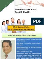Penilaian Kinerja Dokter Snars 1 - Dr. Hanny r