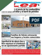 Periódico Lea Lunes 12 de Noviembre Del 2018