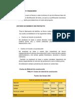 ESTUDIO ECONÓMICOY FINANCIERO