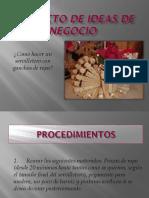 Proyecto de Ideas de Negocio