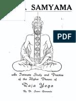 Swami Gitananda-Yoga Samyama