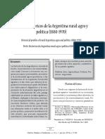 perfiles Historicos de la Argentina