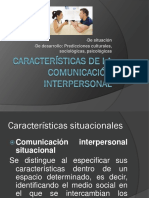 Caracteristicas de La Comunicacion Inter