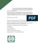 Spesifikasi Alat Ukur Petir (Lpi)