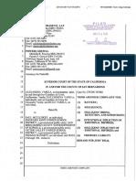Operative Complaint - Varela v. McCluskey 03-14-18 CONFORMED