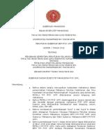 Contoh Peraturan Gubernur Mahasiswa Badan Eksekutif Mahasiswa