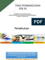 Administrasi Pembangunan Desa