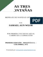 1972 Samael Aun Weor Las Tres Montanas