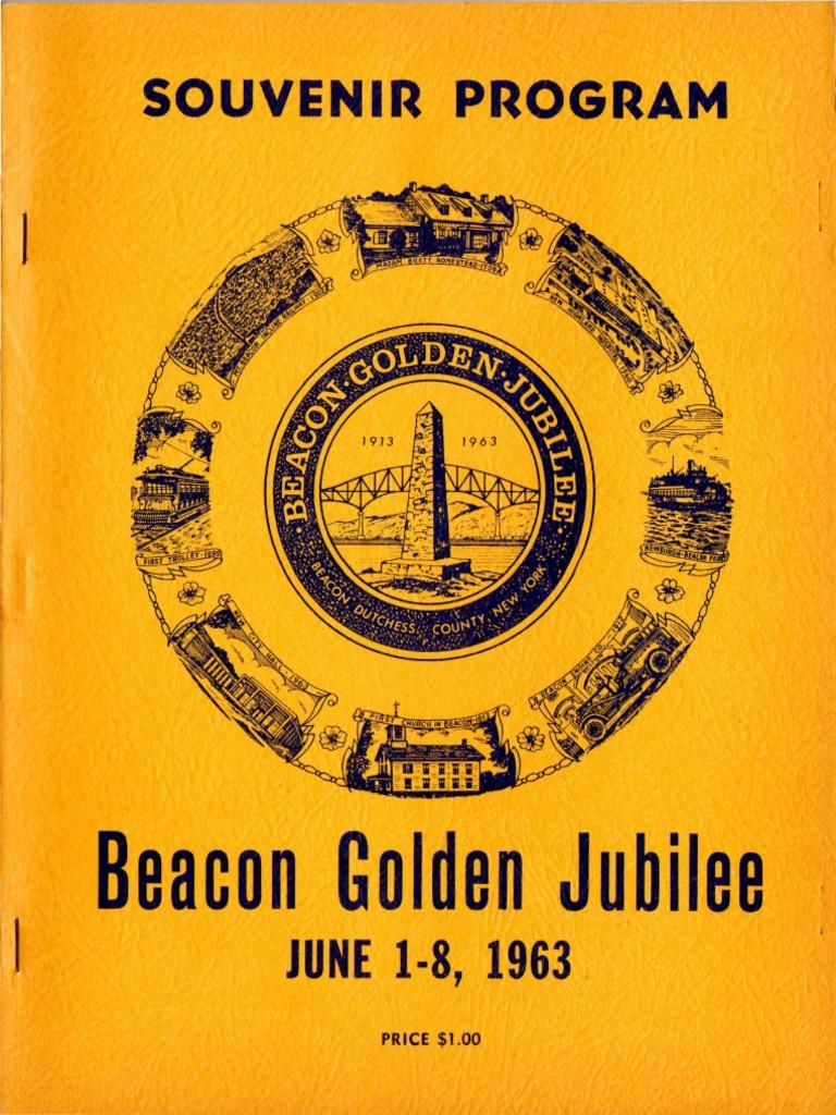 Souvenir Program: Beacon Golden Jubilee