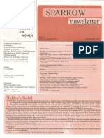 Prof. Vibhuti Patel's Obituary to Mrs. Pravinaben Natubhai Patel SPARROW Newsletter 32 March 2015