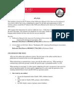 APA 6th edition
