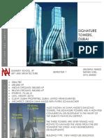Group 5- Signature Towers, Dubai