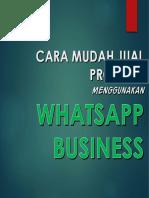 whatsapp bisnis fitur