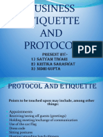 3-Protocol and Etiquette