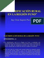Eletrificacion Rural de La Región Puno