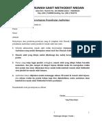Persetujuan Pemakaian Ambulans
