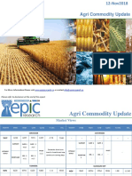 Daily Agri Report 12 NOV 2018 by Epic Research