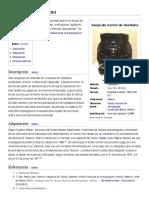 Monito de Obsidiana - Wikipedia, La Enciclopedia Libre