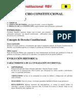 EVOLUCION HISTORICA DEL DERECHO CONSTITUCIONAL