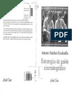Antonio Sanchez Escalonilla - Estrategias Del Guion Cinematografico