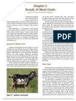 Chapter 2 - Breeds of Meat Goats
