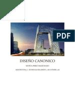 DISEÑO CANONICO