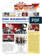 Issue #1 A.Y. 2018-2019 Silver Trumpets