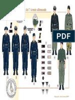 Uniformen - 048 - Les Troupes Blindées de l'Armée Allemande, 1940-1944