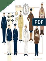 Uniformen - 122 - Le Pilote de l'Armée de l'Air, 1935-1940
