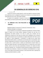 GENERALIDADES DE DERECHO CIVIL