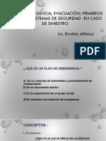 Plan de Emergencia Evacuación en Caso de Siniestro Por Incendio