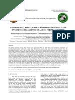 Experimental Investigation and Computational Fluid Dynamics Analysis of an Eco-Friendly Turbine