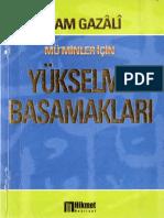 Imam Gazali - Yukselme Basamaklari_text