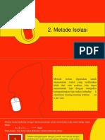Kinetika reaksi kimia metode isolasi dan metode differensial