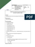 Perhitungan Kehilangan Pwf Gas Methode Cullender Smith