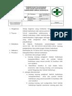 Sop Pemantauan Pelaksanaan Kebijakan Dan Prosedur Penanganan Limbah Berbahaya Pkm Penyandingan