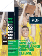 FIBA ASSIST MAGAZINE No4