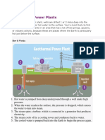 Geothermal Power Plants and How It Works