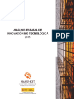 20160201 Manuket Analisis Estatal de Innovacion No Tecnologica 2015
