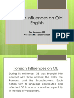 Foreign Influences 181