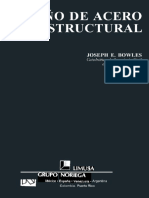 Diseño de Acero Estructural (Joseph E. Bowles)