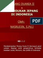02 Perang Duania II Pendudukan Jepang Di Indonesia