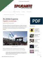 No olvidar la guerra _ Revista Replicante (1).pdf
