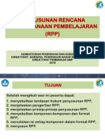 Petunjuk Penyusunan Komponen2 RPP
