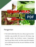 Kel 4 Terapi Obat Herbal