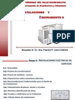 instalaciones y equipamiento