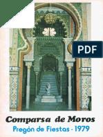 Pregón Moro de Fiestas 1979