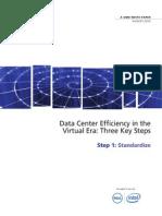 AST-0006166 IW - Data Center Efficiency- Step 1 - Standardize