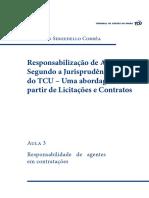 Responsabilidade de Agentes Em Contratações - Aula 3