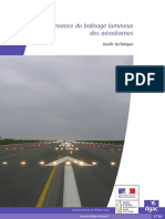 STAC - Maintenance Du Balisage Lumineux Des Aérodromes